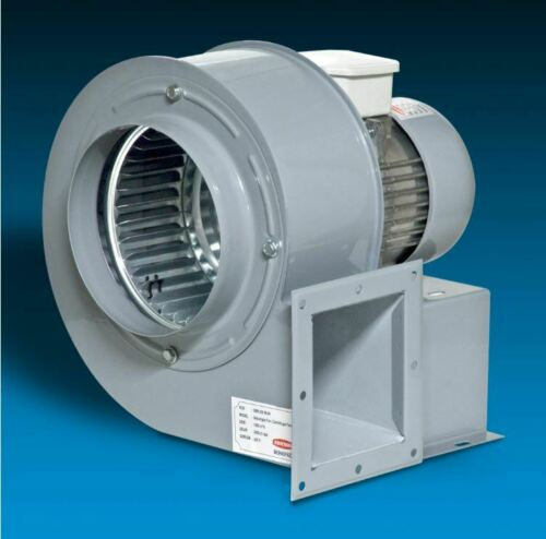 Zentrifugal Gastro Airbox Radialgebläse Radialventilator Radiallüfter 1950m³h